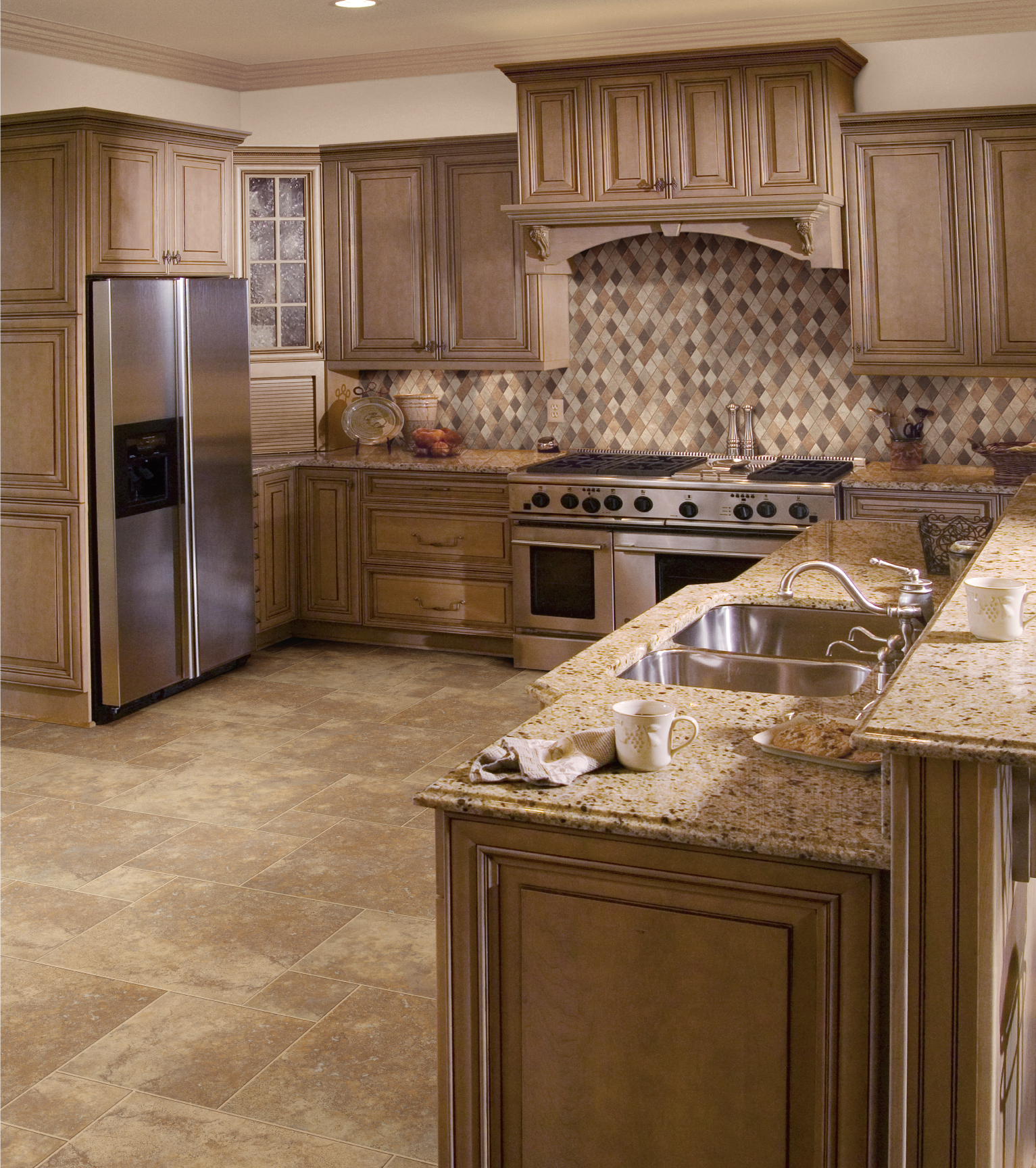 We custom order and install countertops, cabinets, backsplashes and ...